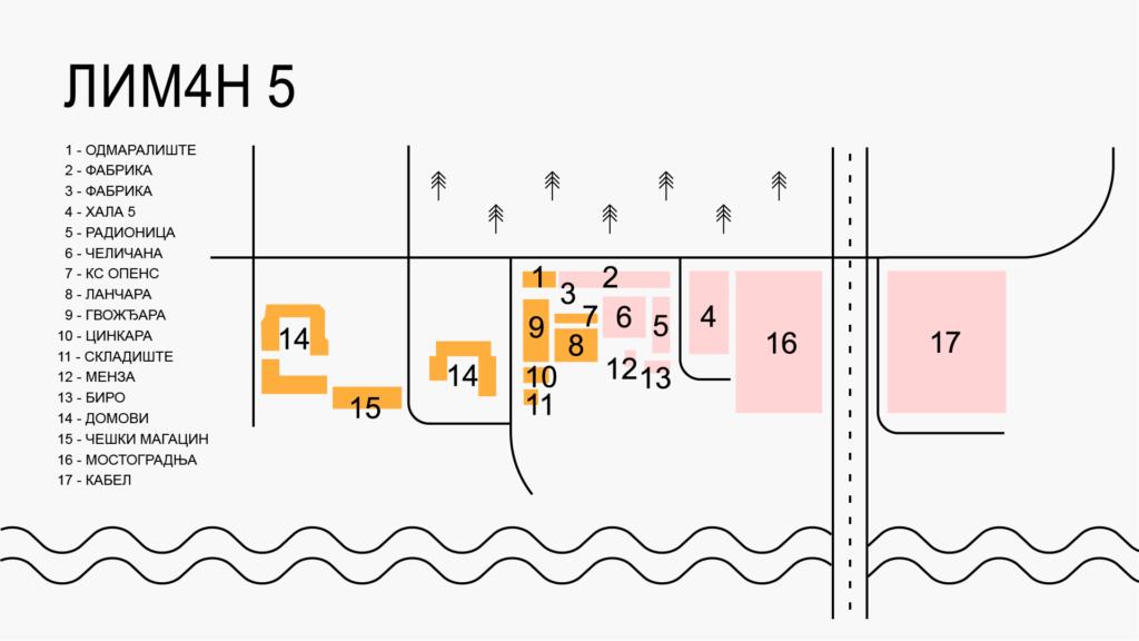 Mapa Liman 5