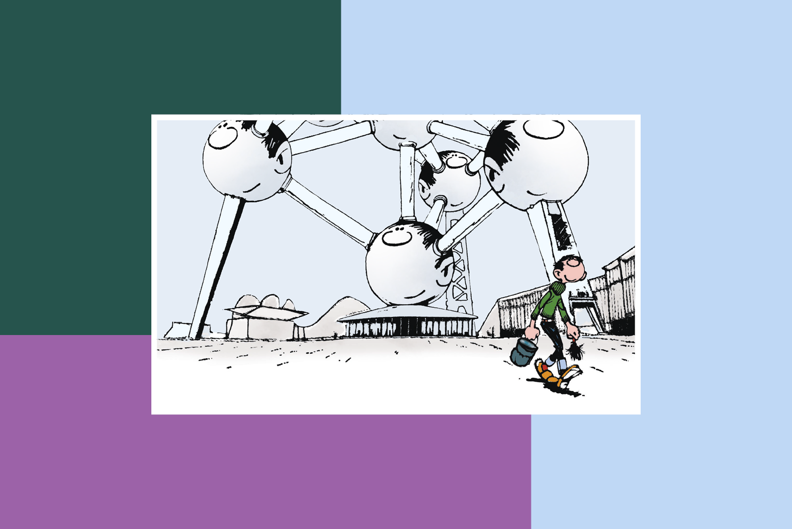 stripom kroz belgiju