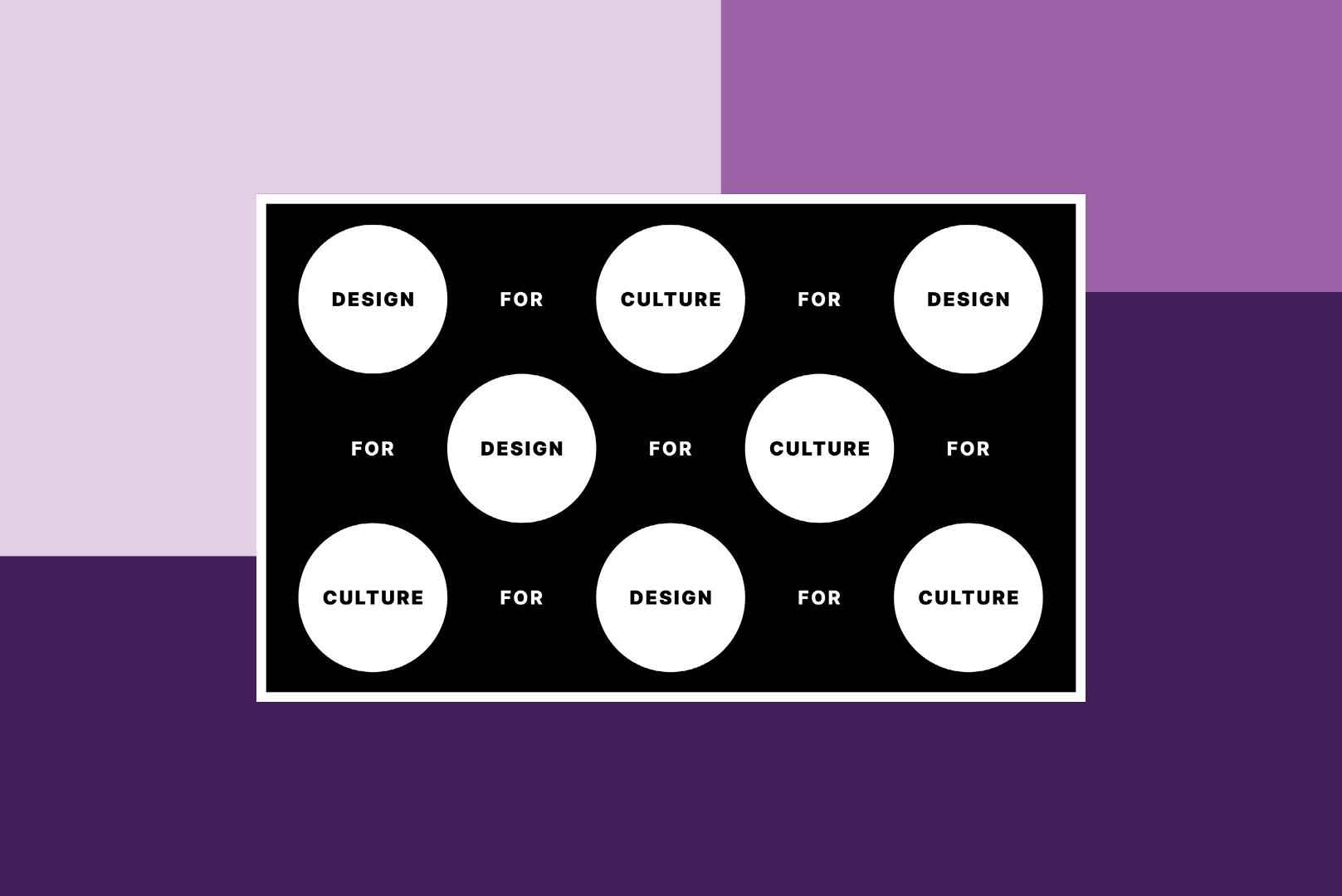 design for culture